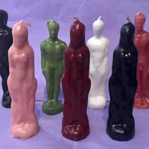 Male and Female Candles