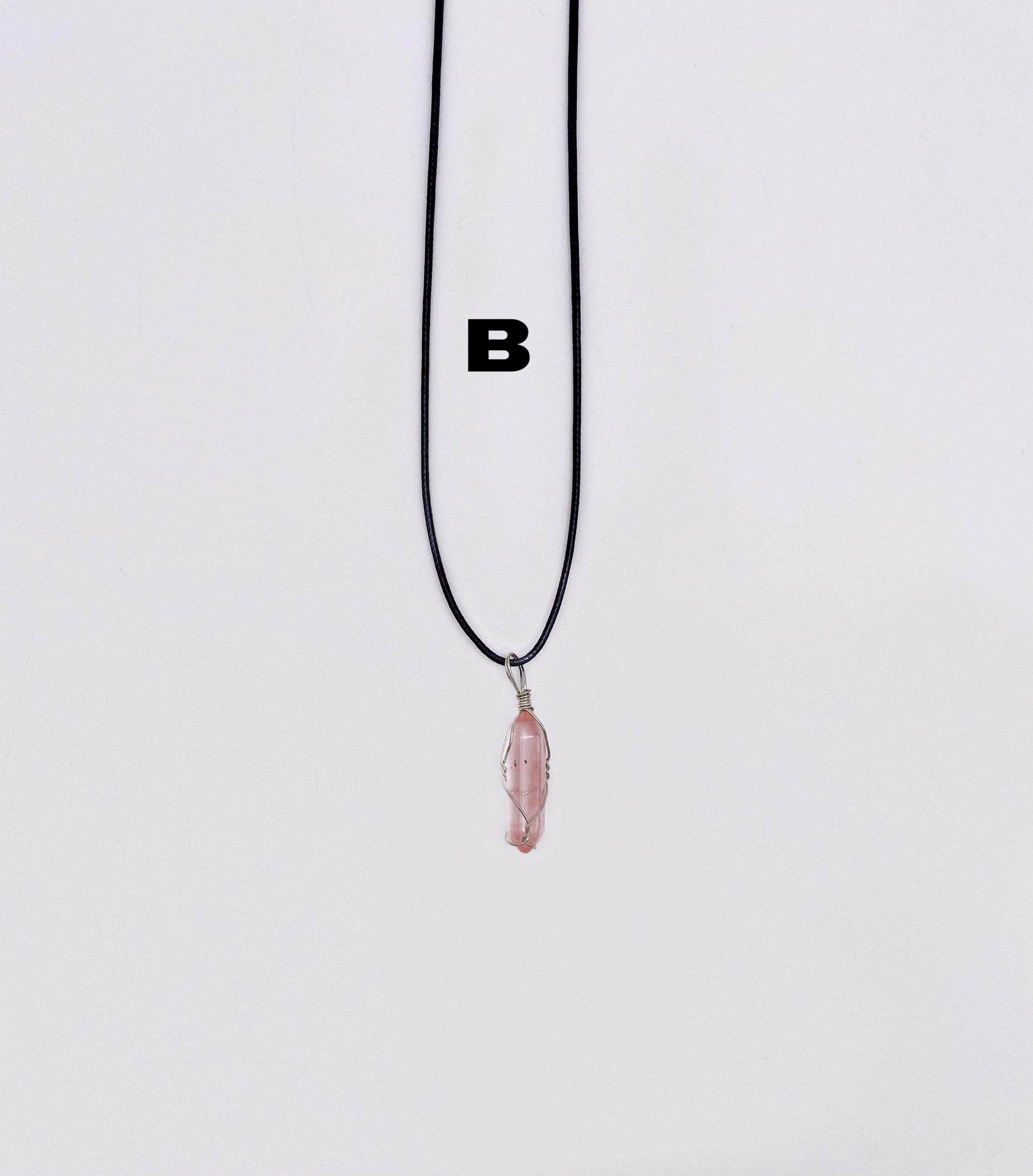 fire cherry quartz necklace; cherry quartz necklace; quartz necklace; copper tone glass bead necklace; quartz and glass bead necklace