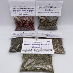 Organic Food Grade Herbs - Edible & Smokable